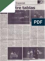 Entre Tablas. Teatro Experimental de La UNSA