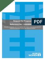 Request for Proposal RFP PT FINAL Rev