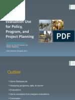 Vivi Yulaswati_Evaluation Use for Program PlanningBappenas
