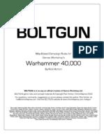 Bolt Gun Manual