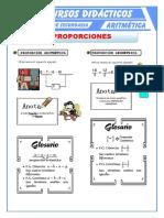 Proporción Aritmética y Geométrica Para Primero de Secundaria