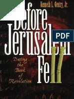Antes de La Caida de Jerusalen - Kenneth Gentry.pdf