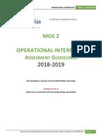 Operational Internship Assesment Guide Mge2 2018 2019 Eng (002)