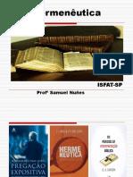 1. Principios Da Hermenêutica Biblica I