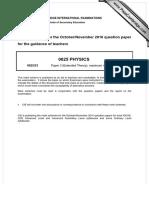 IGCSE  Question Paper