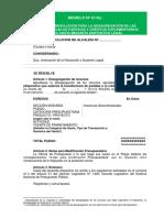Modelo 01 GL Desagrega TP CS RD003 2019EF5001