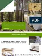Introducción Papel y Pasta Mecanica 2018