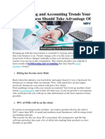 Bookkeeping and Accounting Trends