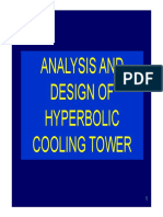Design of Hyperbolic Cooling Tower