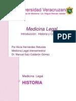 introduccinalamedicinalegalhistoriayconcepto-130625064802-phpapp01