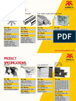 Ambica Steel's Product Specification