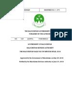 Balochistan ST OnServicesRules2018