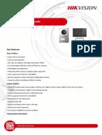Fsia Tehnica Kit Videointerfon Hikvision DS-KIS701 Touchscreen 2 Fire 7 Inch