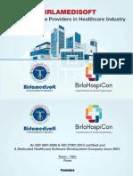 Presentation on Q4 HIS in Pocket by Birlamedisoft