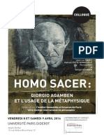 Prog Homo Sacer(1)