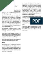Enriquez vs. Sunlife Assurance Digest