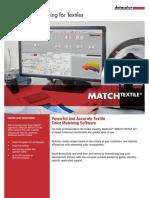 Matchtextile Specsheet en Web