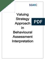 Psycometric Assessment