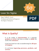 Module 1 - Introduction on Lean Six Sigma