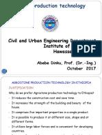 Agrostone Lecture 5