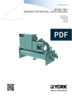 160.84 EG1 Engineering Guide Model YMC2 Magentic Bearing Centrifugal Liq...
