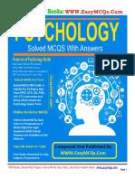Psychology MCQs PDF Book by Dogar Publishers
