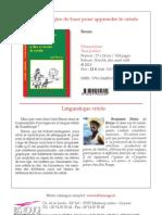 Astuces et règles de base pour apprendre le créole