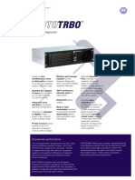 DR3000 Mototrbo Repeater Specifications 1.6a
