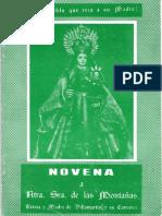 Villamartin. Novena a la Virgen de las Montañas