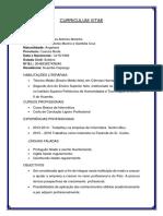 Curriculum Vitae Cafanda