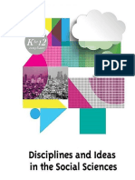 Disciplines and Ideas in the Social Sciences Front