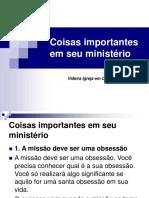 Coisasimportantesemseuministério.ppt