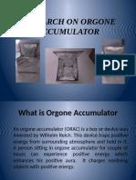 Orgone Accumulator (Orac)