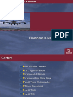 Errorneous ILS Captures