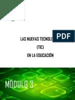 Módulo 3 . Internet y Los Alumnos