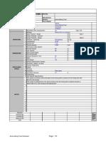 Amine Mixing Tank Datasheet