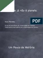 Palestra Pluto Tnos