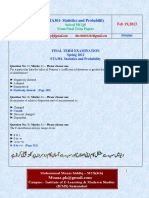 STA301 - Final term solved mcq with reference by Mooaz (UpDated).pdf
