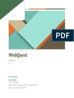 Projeto - WebQuest - 1ª Versão