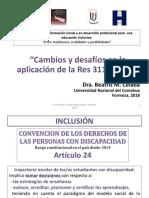 Resolución CFE 311/16 - RUEDES 2018