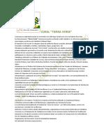 +CV. de la Coral TIERRA VERDE +. Coro y Director