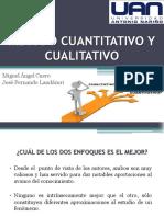 Metodo Cuantitativo y Cualitativo