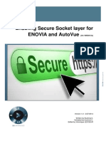 Enabling SSL for enterprise applications