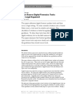 Open Source Digital Forensics Tools