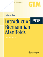 Introduction to Riemannian Manifolds (2018)