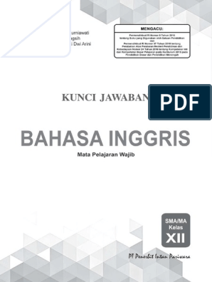 Kunci Jawaban Pr Bahasa Inggris 12 Edisi 2019pdf