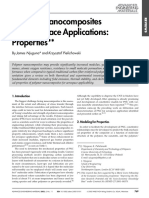 Polymer Naocomposite for areospace applicatoins