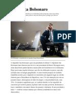 A ameaça Bolsonaro