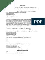 1 1 Funcoes (1) Produto Cartesiano, Dominio, Contradominio e Imagem