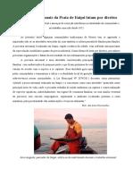 Pescadores Da Praia de Itaipú Lutam Por Direitos